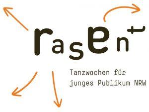 Logo - rasant - Tanzwochen für junges Publikum NRW